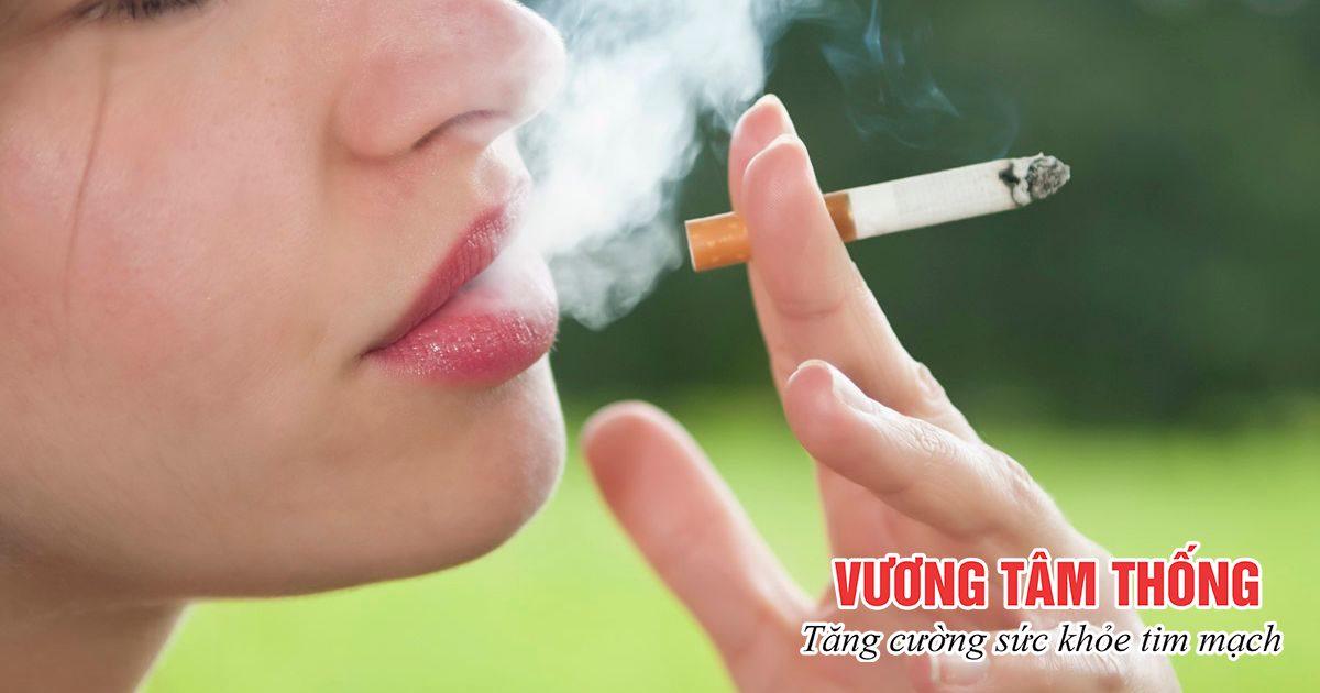 Người trẻ cần từ bỏ thói quen hút thuốc để phòng ngừa thiếu máu cơ tim
